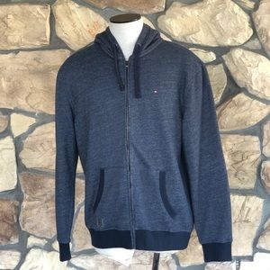 {Tommy Hilfiger} Blue Full Zip Jacket